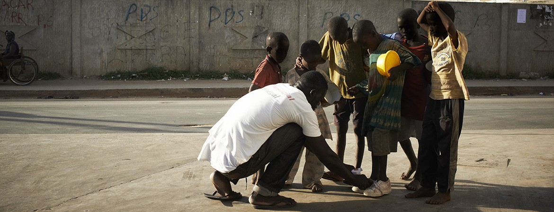 Samu Social international soutien enfants Afrique
